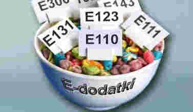 dodatki E